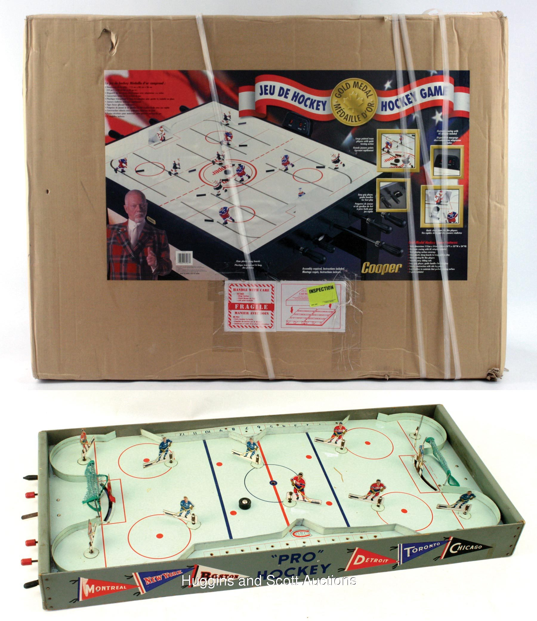 Vintage table hockey - Pictures Click On Photo To Enlarge
