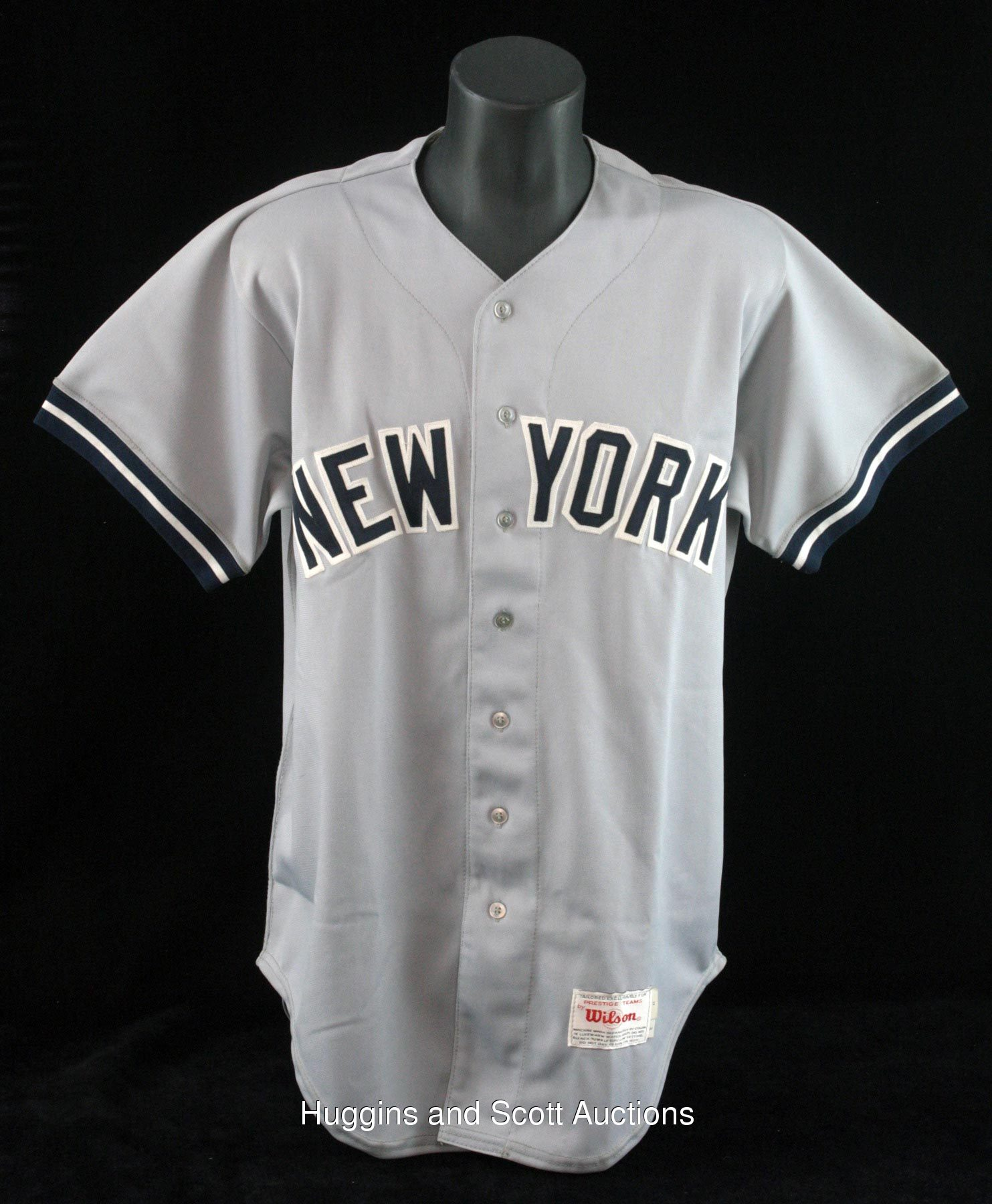 new style b6365 ebbce Mickey Mantle 1989 New York Yankees Game-Worn Old-Timers ...